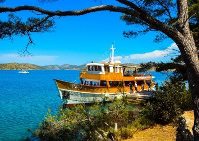 Kornati Telascica hajókirándulás az Arbiana hajóval