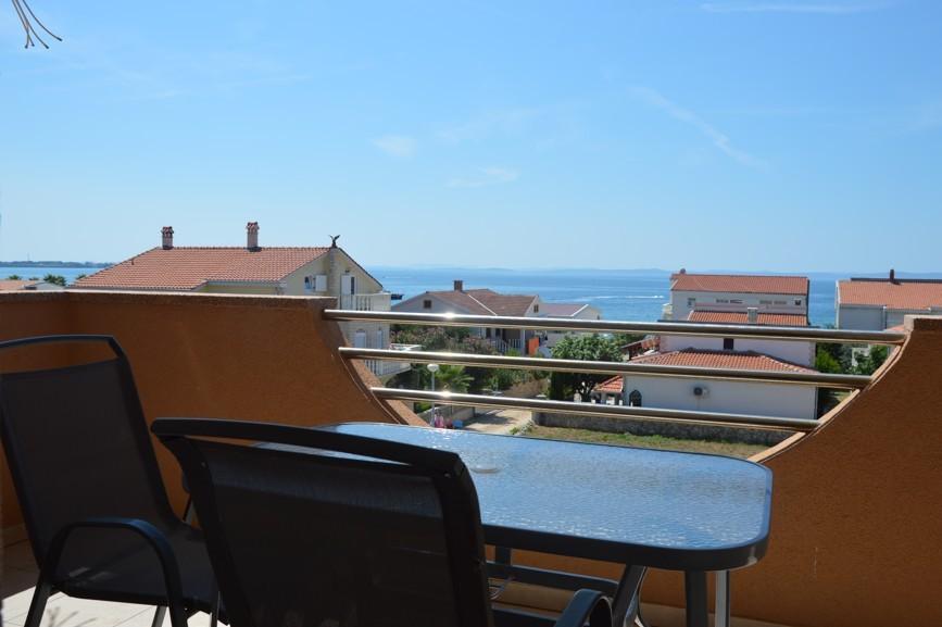 villa dobra holiday apartman7 kilátás a teraszról