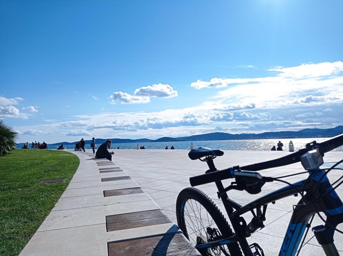 zadar kerékpáros városnézés
