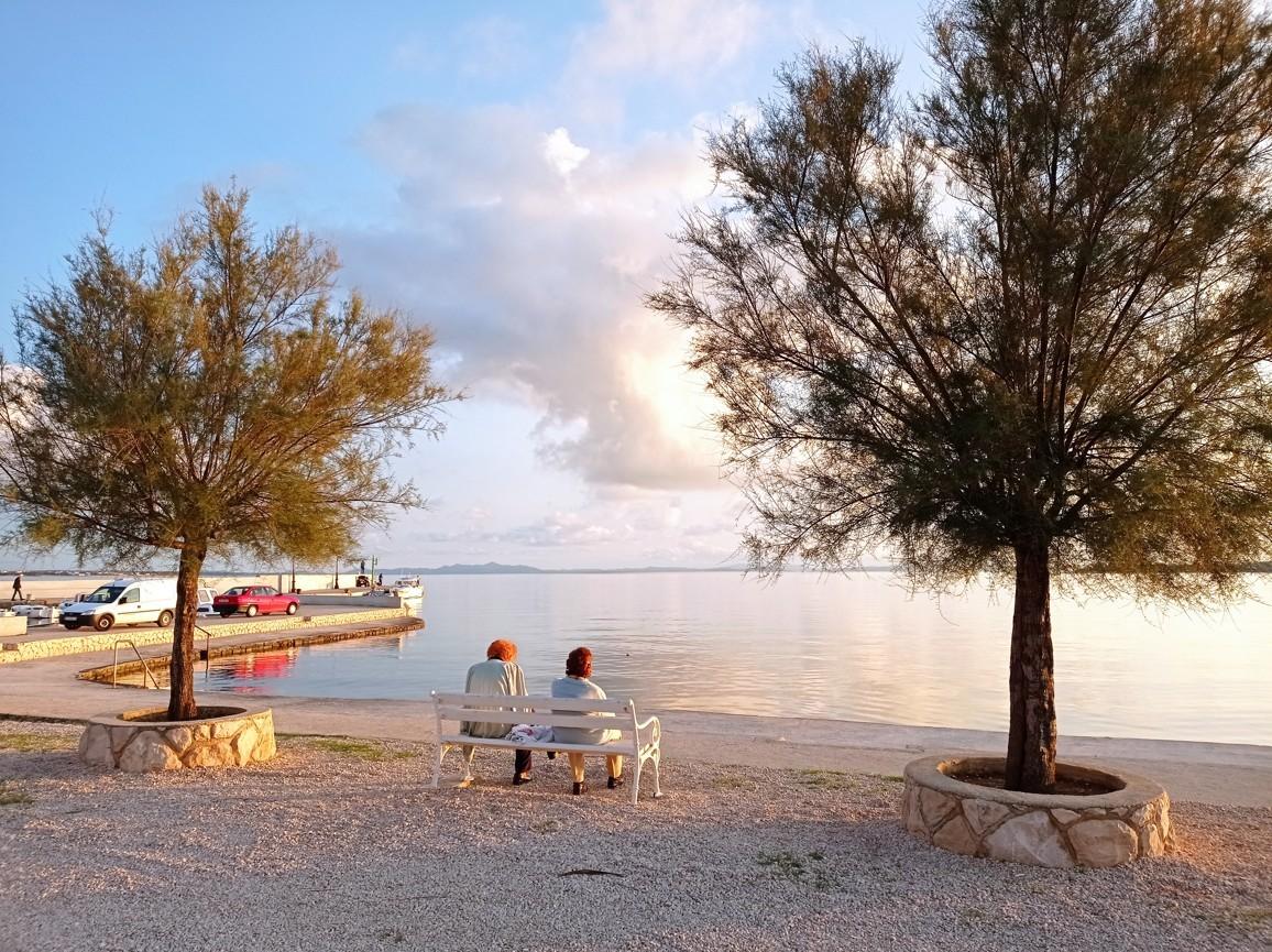 vir sziget októberben